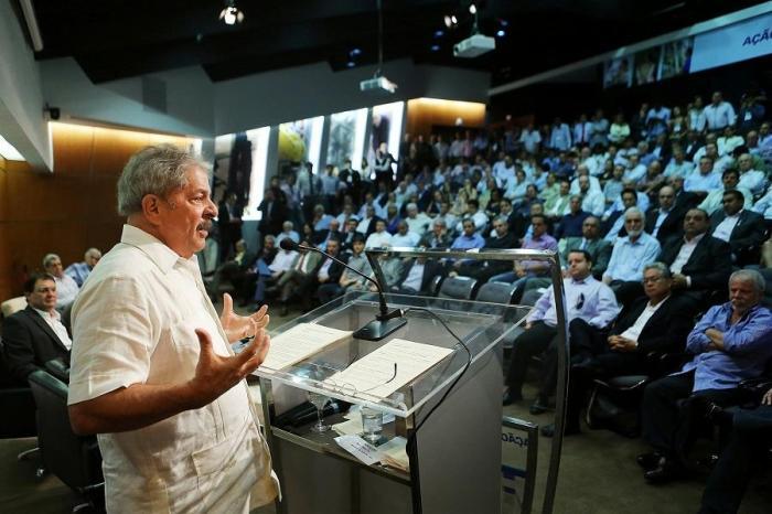 Lula em palestra