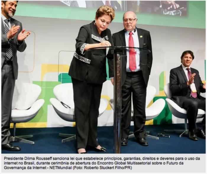 Dilma e Marco Civil
