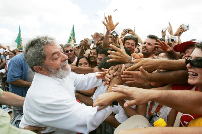 Presidente Lula participa da inauguração de usina de biodiesel em Iraquara. Bahia, 10 de fevereiro de 2007.