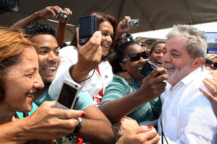 Presidente Lula na cerimônia de inauguração de unidades habitacionais do Programa Minha Casa, Minha Vida