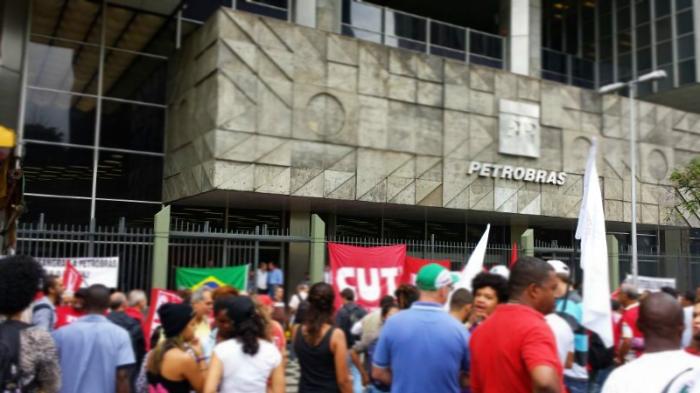 Petrobras avenida Chile