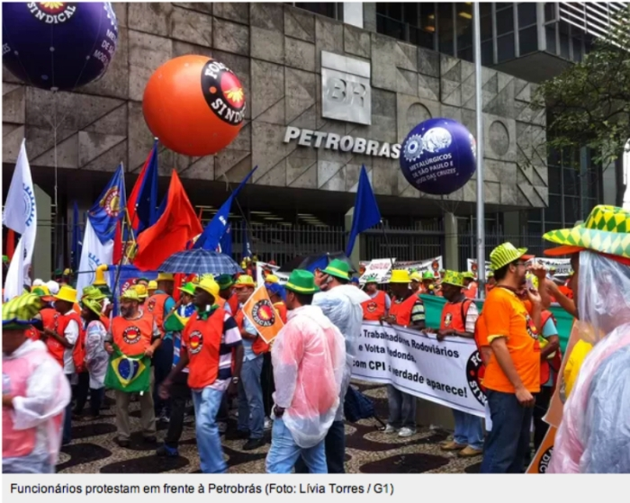 Protesto Privatizacao