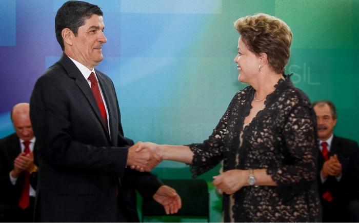 Vinicius Lages e Dilma