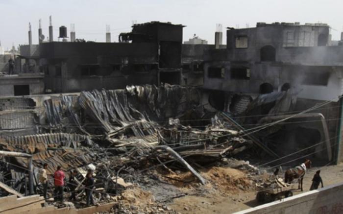 Zona de conflito em israel