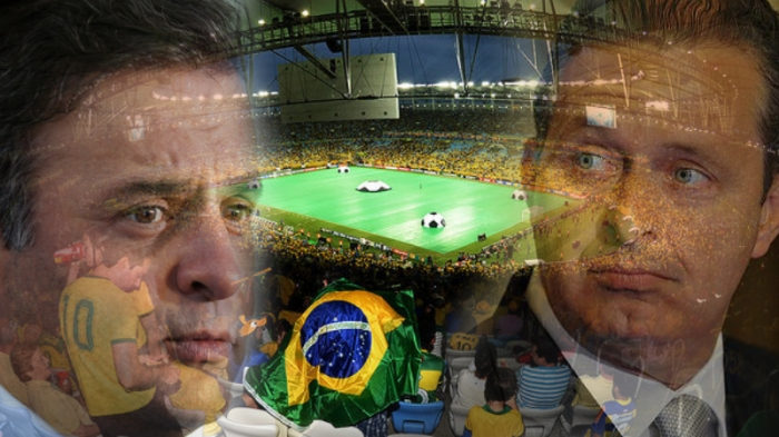 Aécio torcenco contra o Brasil
