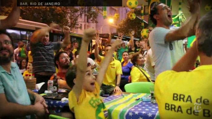 Vídeo do New York Times mostra reação dos brasileiros com o primeiro gol