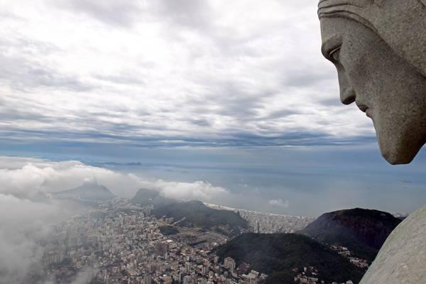 Cristo Redentor, no Corcovado, Rio de Janeiro; cidade será sede das Olimpíadas de 2016 (foto: Wilton Junior/Estadão Conteúdo)