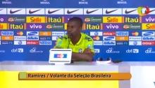 Ramires da Seleção Brasileira reclama da imprensa